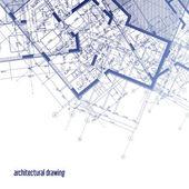 Plany architektoniczne — Zdjęcie stockowe