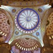 The Blue Mosque, Istanbul. Turkey — Stock Photo