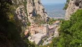 Santa Maria de Montserrat Abbey — Stock Photo