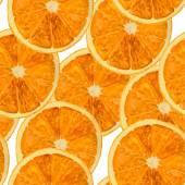 Orange watercolor pattern. Seamless background. Vector illustsration. — Stock Photo