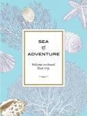 Hand Drawn Seashell. Vector Illustration of Underwater World. — Stock Vector