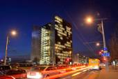 Office of Swedbank, Vilnius — Stock Photo