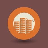 City symbol — Stock Vector