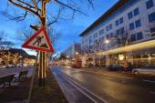 Street decorations, Berlin — Stockfoto