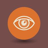 Eye symbol — Stock Vector