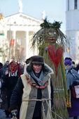 Pueblos de máscaras tradicionales — Foto de Stock