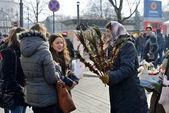 Traditional crafts fair, Vilnius — Stock Photo