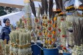 Traditional palm bouquets, Vilnius — Stock Photo