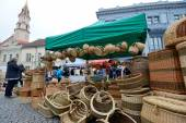 Traditional crafts fair — Stock Photo