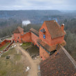 Turaida Castle, Latvia — Stock Photo #67302111