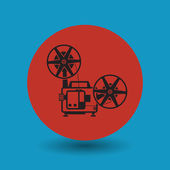 Cinema symbol — Stock Vector