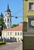 Architecture of Vilnius Old Town — Stock Photo
