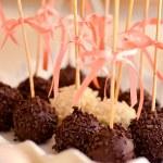 Coated chocolate balls — Stock Photo #69373999