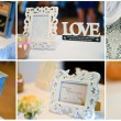 Wedding frames collage — Stock Photo #69374067