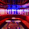Red VIP club interior with beautifull lighting — Stock Photo #69760575