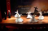 Whirling dervish (Semazen) — Stock Photo