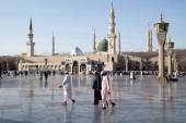 Nabawi Mosque, Medina, Saudi Arabia — Stock Photo