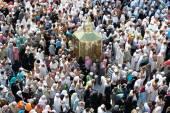 Kaaba el maqam Ibrahim — Foto de Stock