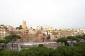 Beautiful view of Roman Empire ruins — Stock Photo