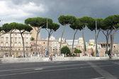 Beautiful view of Roman Empire ruins, Rome  — Stock Photo