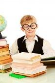 Intelligent boy — Stok fotoğraf