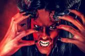 Rage diabolic — Stock Photo
