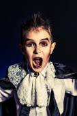 Boy vampire — Stock Photo