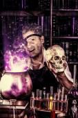 Wizard man — Stock Photo