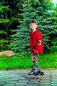 Enjoy skating — Stock Photo