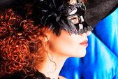 Mask black — Stock Photo