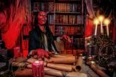 Satan diablo — Stock Photo