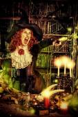 Sorcery magician — Stock Photo