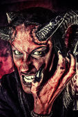 Angry satan — Stock Photo