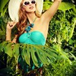 Tropics lady — Stock Photo #54316831