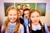 Crianças em idade escolar — Foto Stock