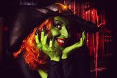 Horror lady — Stock Photo