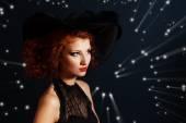 Magician woman — Stock Photo