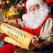 Reading santa — Stock Photo #55408077