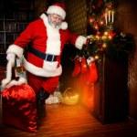 Santa fireplace — Stock Photo #55612847