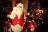 Jolly santa — Stock Photo