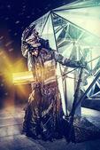 Futuristic fantasy — Stock Photo