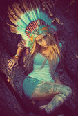 Headdress — Stock Photo