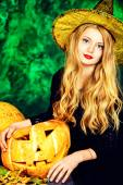Traditional witch — Stock Photo
