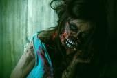 Murderer zombie — Stock Photo