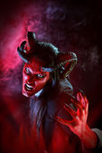 Cruel devil — Stock Photo