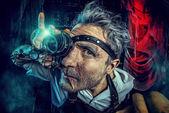 Crazy man — Stockfoto