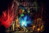 Dlack spell — Стоковое фото