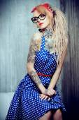 Old-fashioned dress — Stock Photo