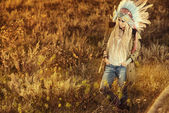 Aborigine fasion — Stock Photo