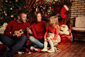 Family positive — Stock Photo